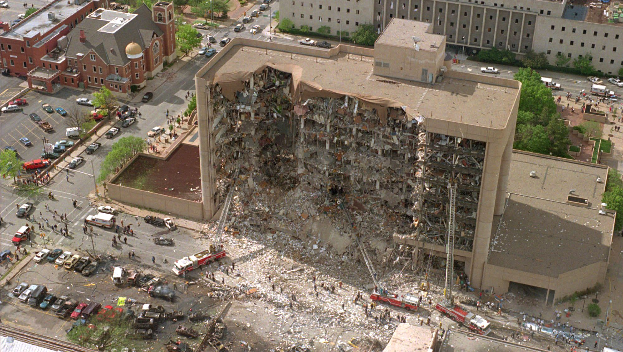 Dispatches from the Middle; Remembering the Oklahoma City bombing 25 years later