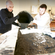 vermont business atmosphyre creates sinks from concrete