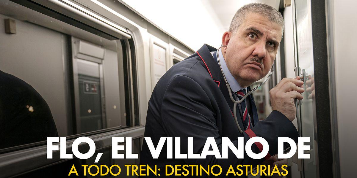 Asi Convirtio Santiago Segura A Flo En El Villano De A Todo Tren