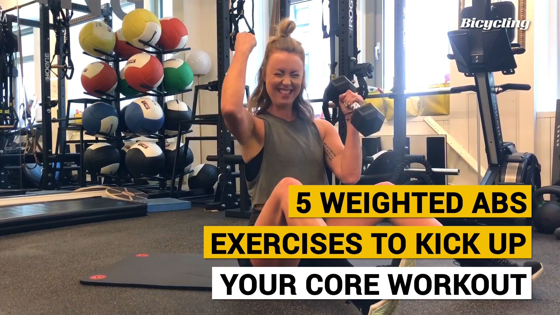 5 Weighted Abs Exercises to Kick Up Your Core Routine