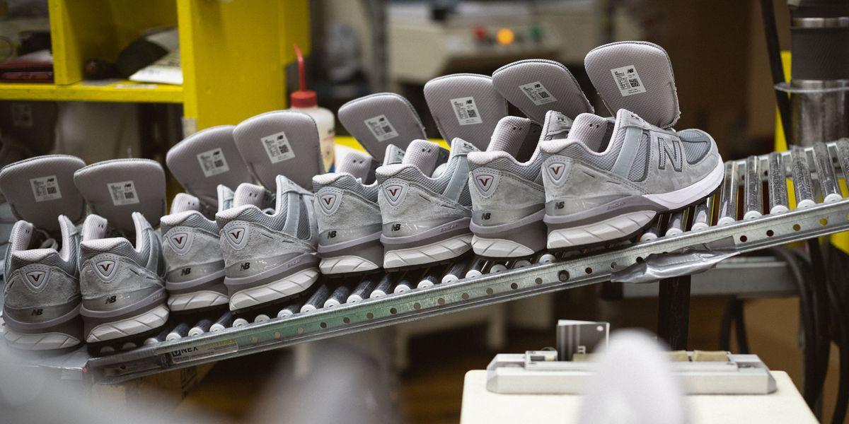 new balance shoe factory