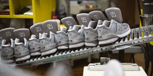 New Balance Shoes Assembled at Lawrence, Massachusetts Factory