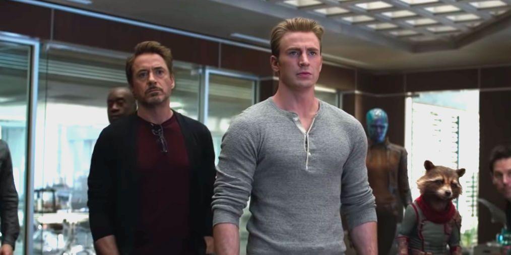 Avengers: Endgame – Tony Stark and Steve Rogers