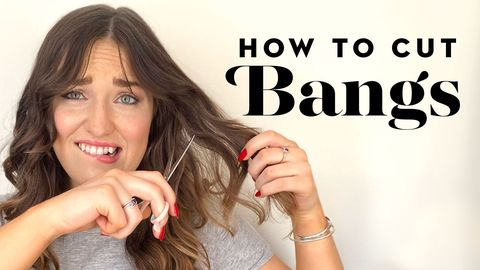 How To Cut Bangs At Home Best Bang Cutting Tips