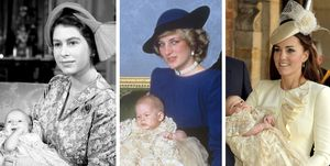 Bautizos Reales, bautizo Princesa Ana, bautizo príncipe Harry, bautizo príncipe Jorge, Reina Isabel II, Kate , Diana