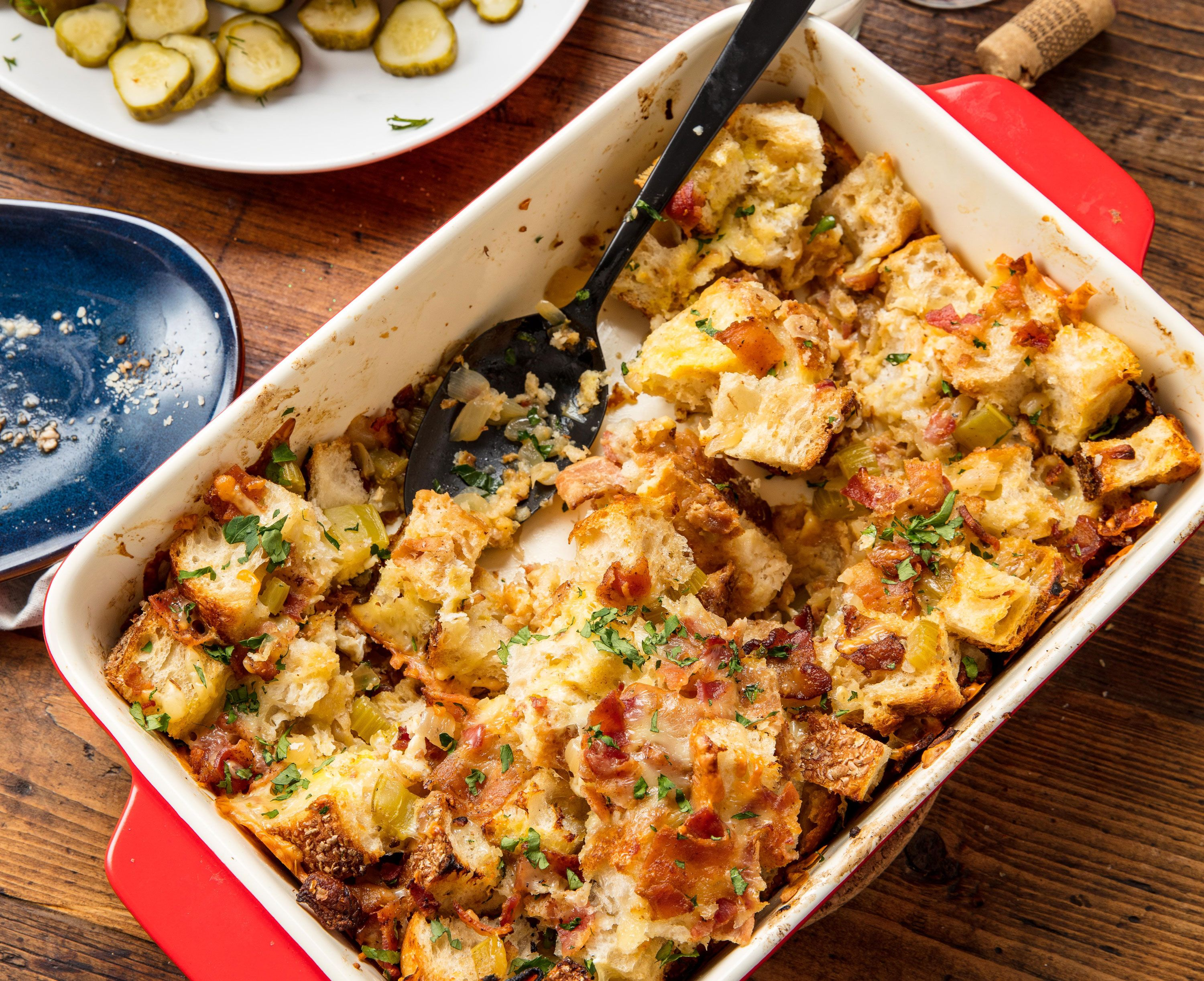 Beer Cheese Stuffing