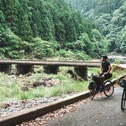 riding bikes around japan