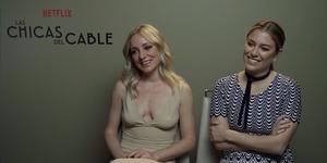 Blanca Suárez, Ángela Cremonte, Las chicas del cable, Cuarta temporada Las chicas del Cable, El internado, Netflix, serie Netflix