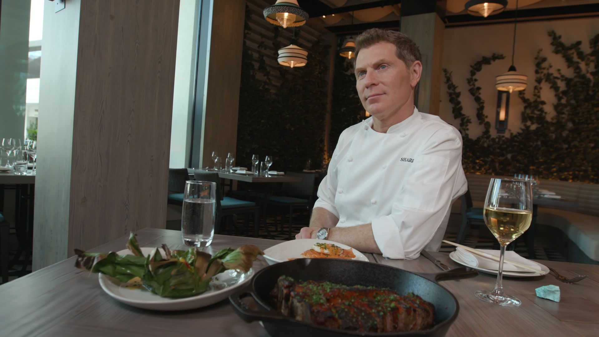 Take A Look Inside Shark, Bobby Flay's First New Restaurant In Five Years
