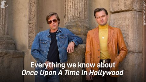 444bef2b Quentin Tarantino's Once Upon a Time in Hollywood Poster Shows Brad Pitt, Leonardo  DiCaprio