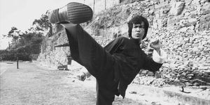 Bruce Lee mejores peleas golpes escenas películas
