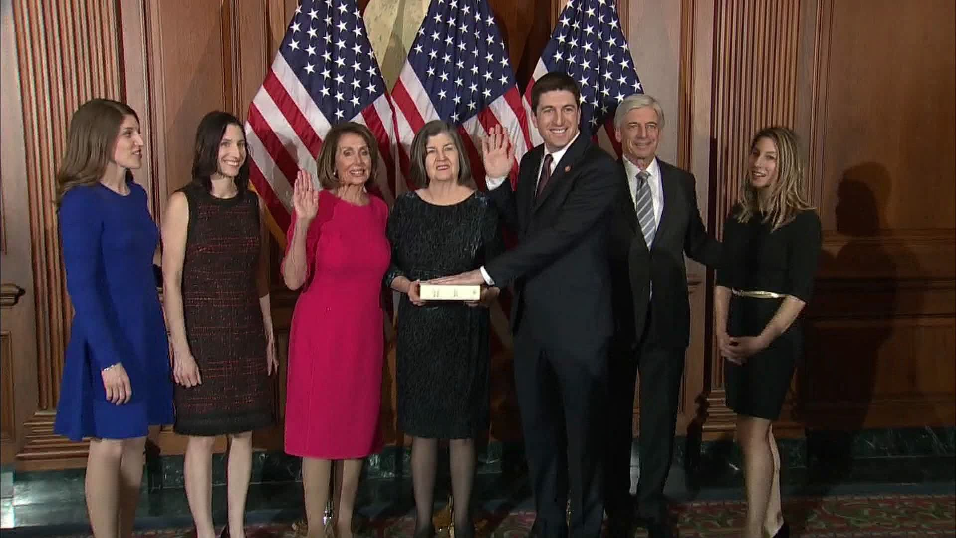 Bryan Steil sworn in as Wisconsin's newest congressman