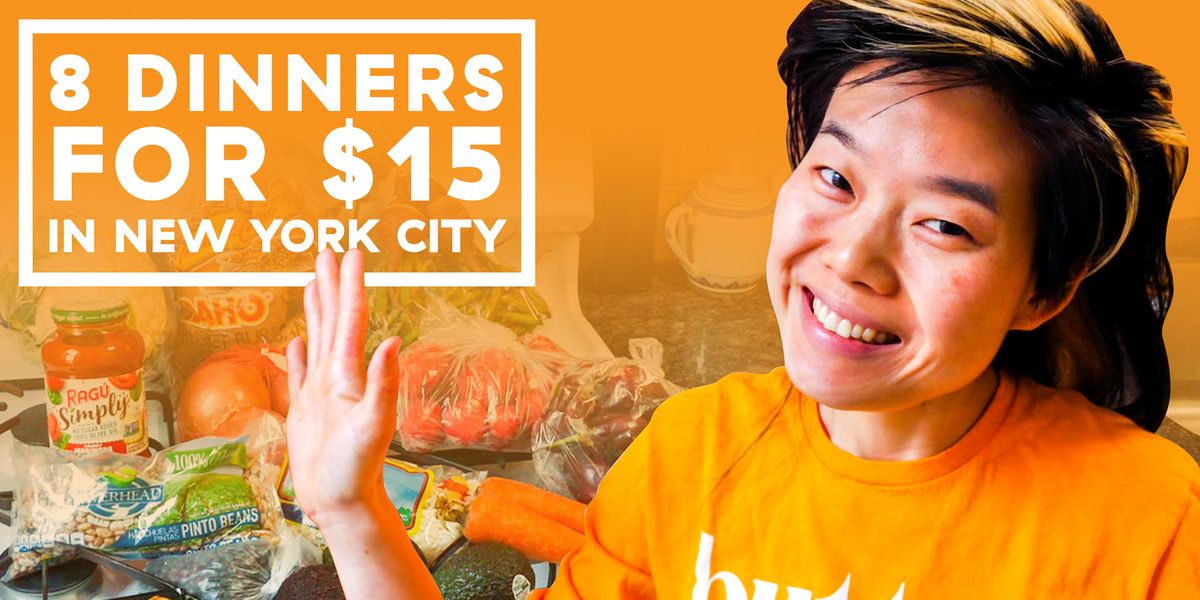 How To Cook 8 Meals For 2 On $15 In NYC