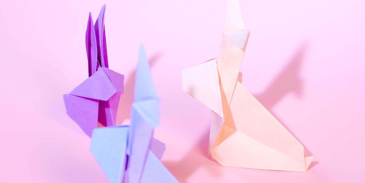 Step-By-Step Instructions on How to DIY an Origami Bunny