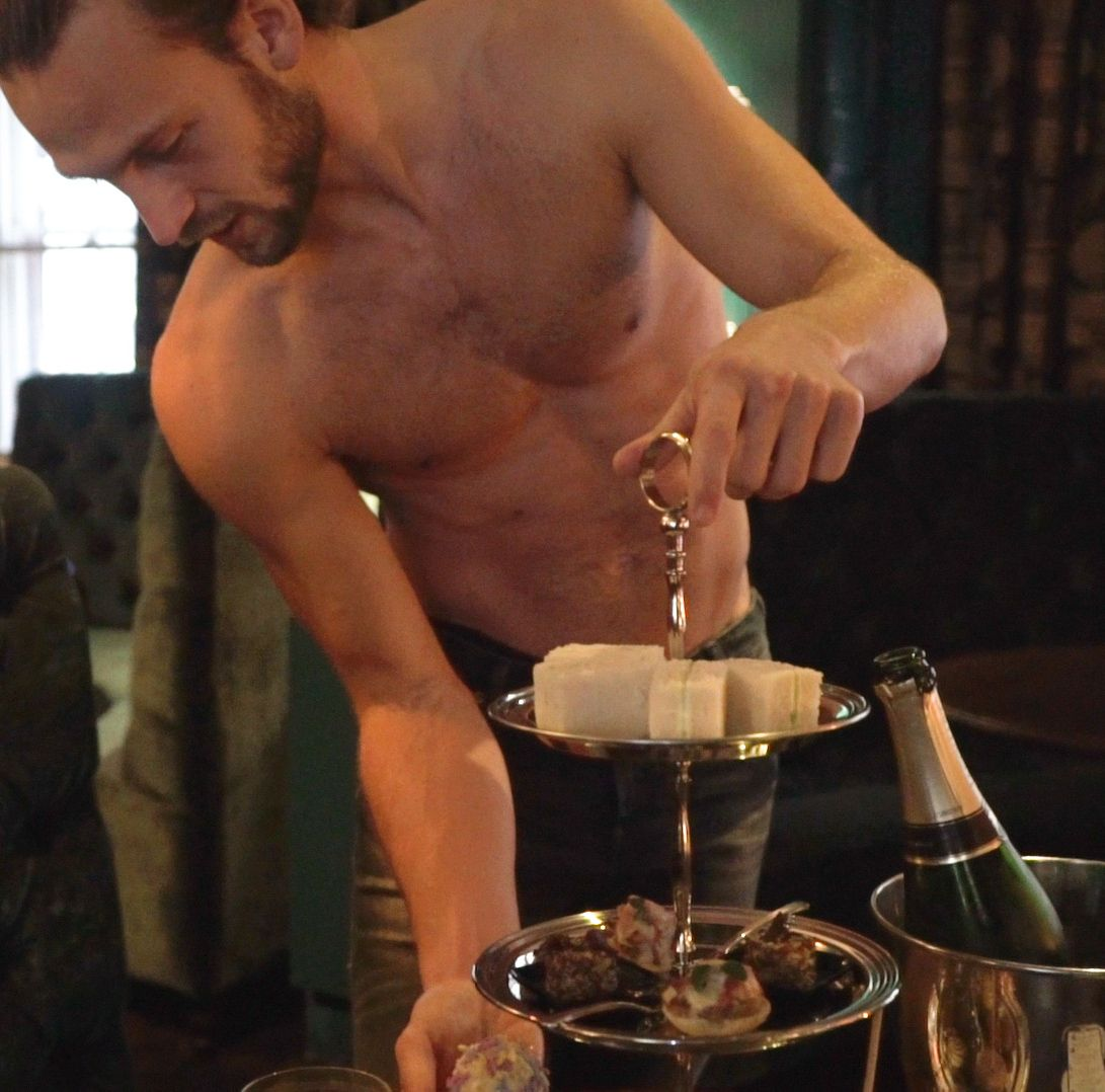 This Magic Mike Live boozy tea room experience looks amazing