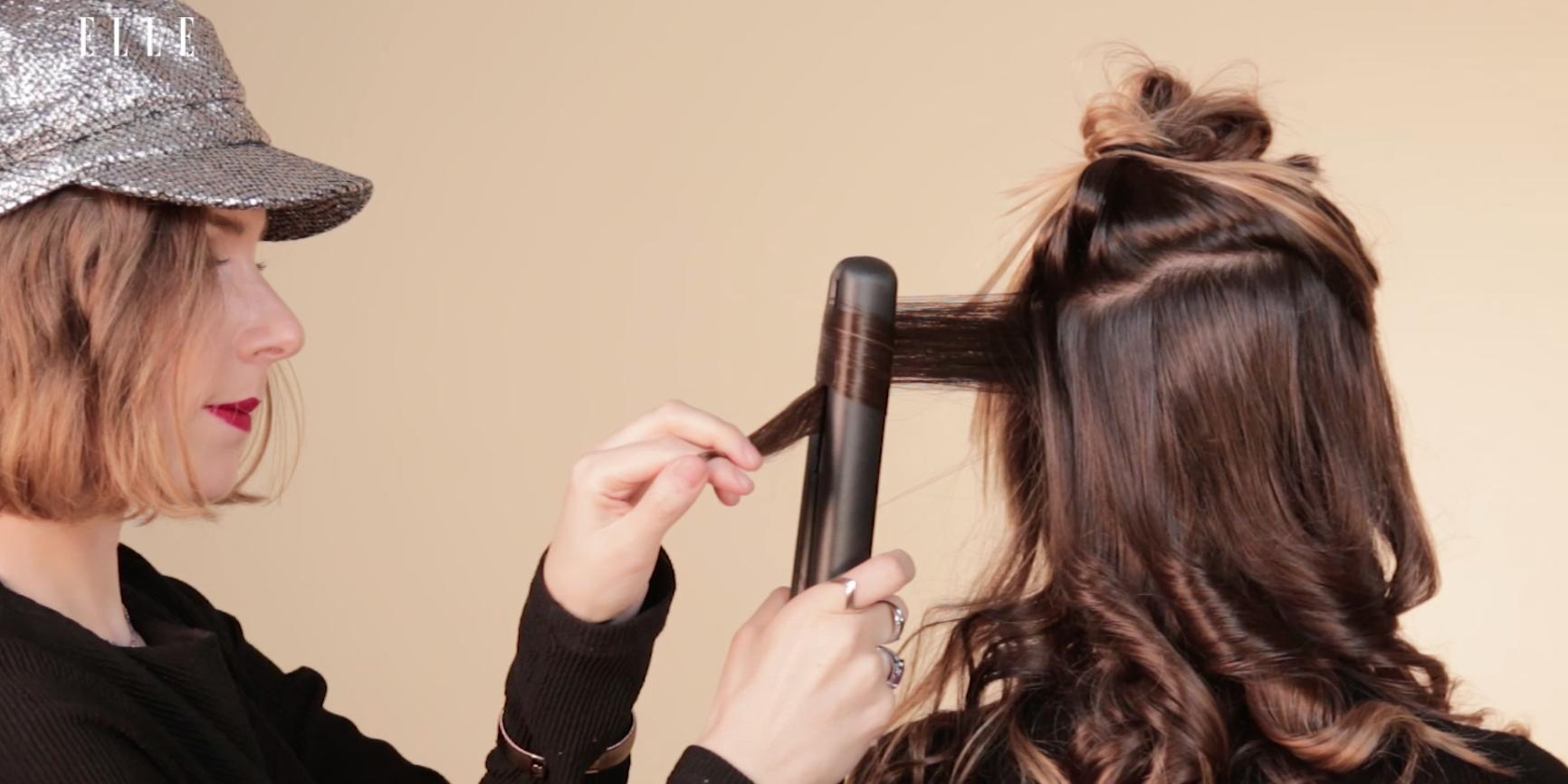 Cómo hacer ondas en pelo largo