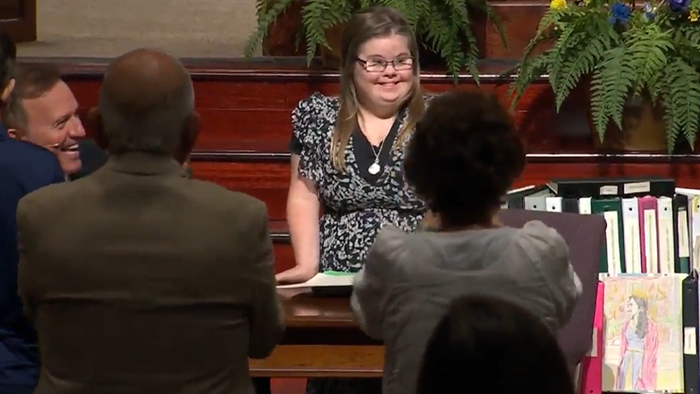 Beaufort woman with down syndrome finishes 10-year journey handwriting the Bible