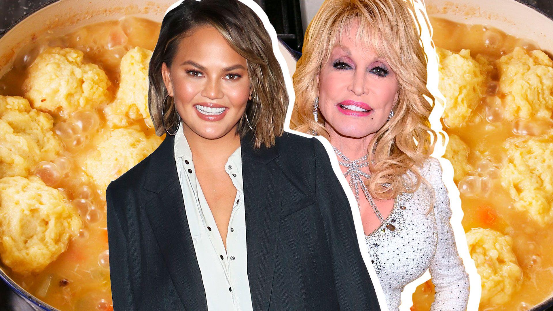 Chrissy Teigen Vs. Dolly Parton: Whose Chicken & Dumplings Are Better?