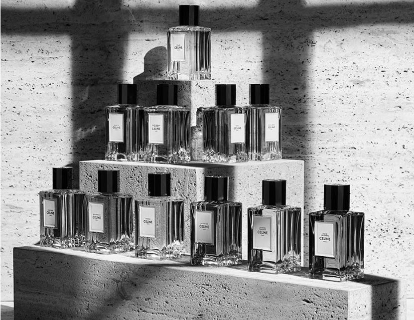 Arriva l'Haute Parfumerie Celine, museo delle fragranze by Hedi Slimane.