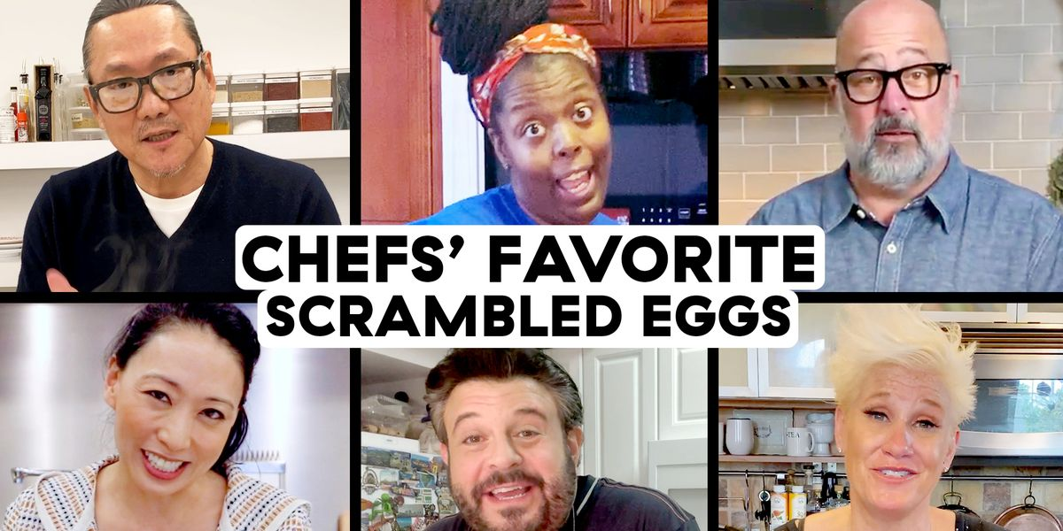 Watch These Pro Chefs Share 6 Methods For Making The Perfect Scrambled Eggs
