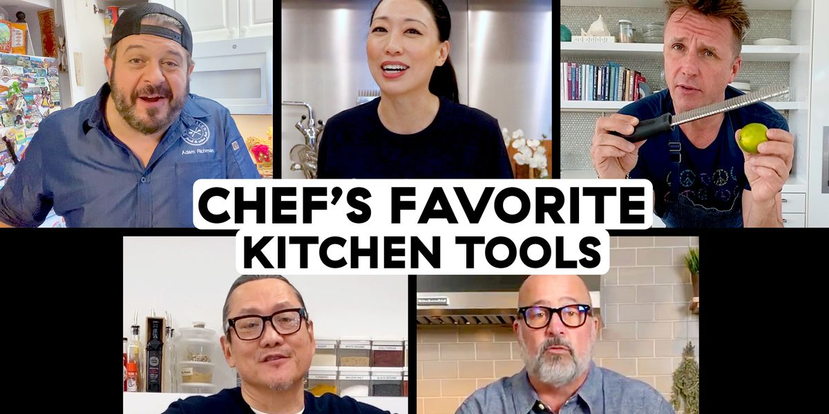 We Asked 5 Celebrity Chefs What Kitchen Tool They Couldn't Live Without