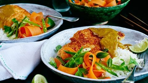 eb29a879dc9 Chicken katsu curry recipes - How to make katsu curry - Wagamama s chicken  katsu curry