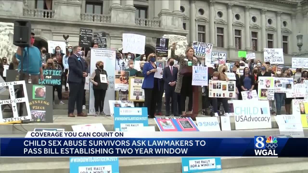 Child sex abuse survivors urge Pa. Senate to take immediate action on lawsuit window