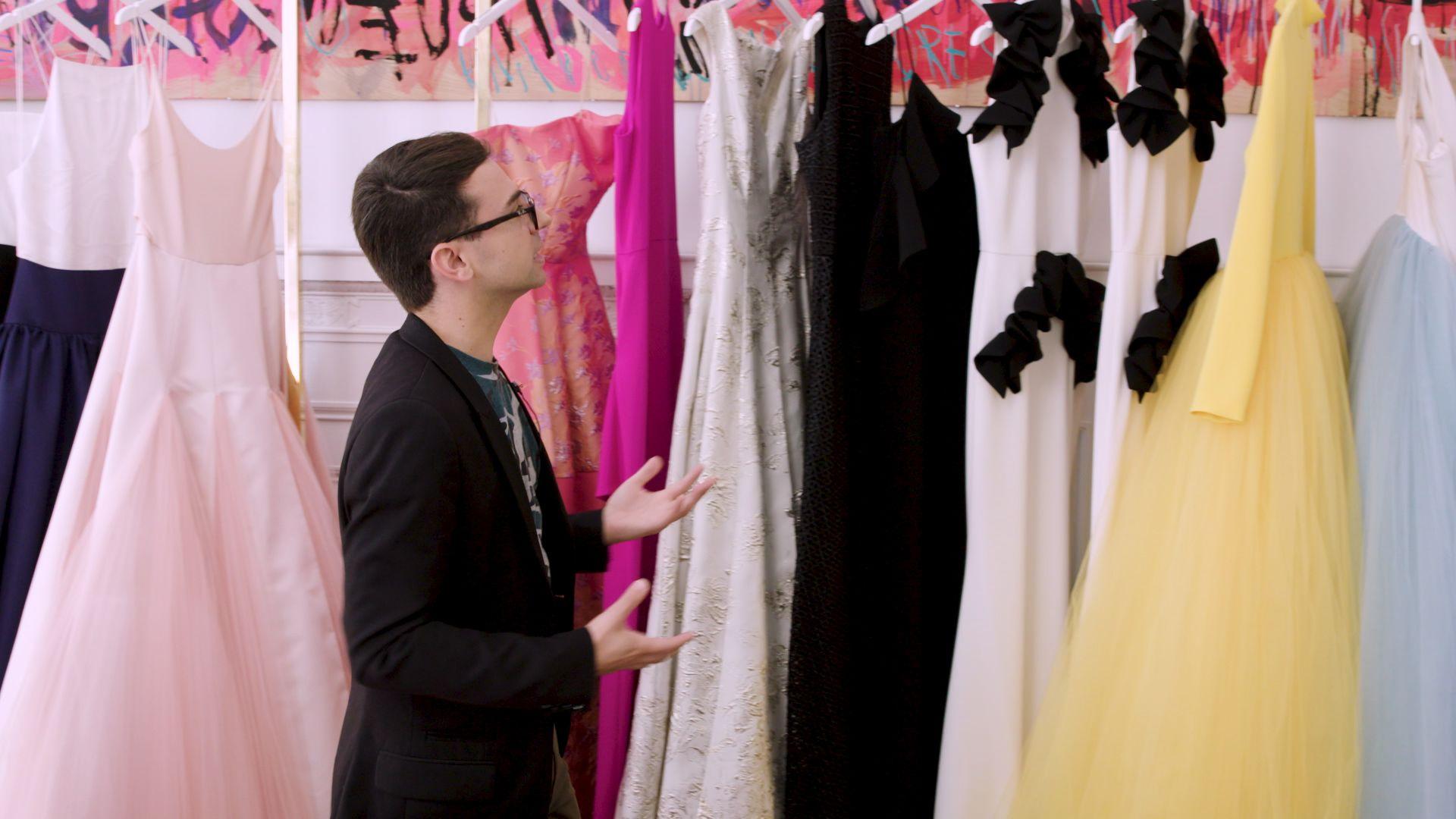 Inside Christian Siriano's Ultra-Glam, Ultra-Dreamy New York Concept Store