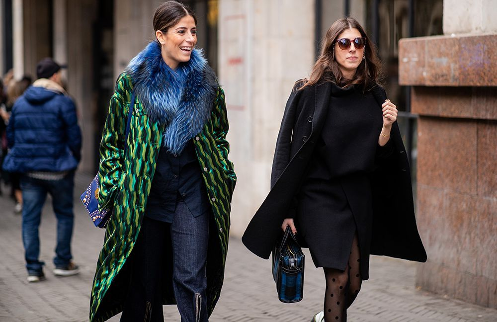 Las superposiciones son la clave de estos looks