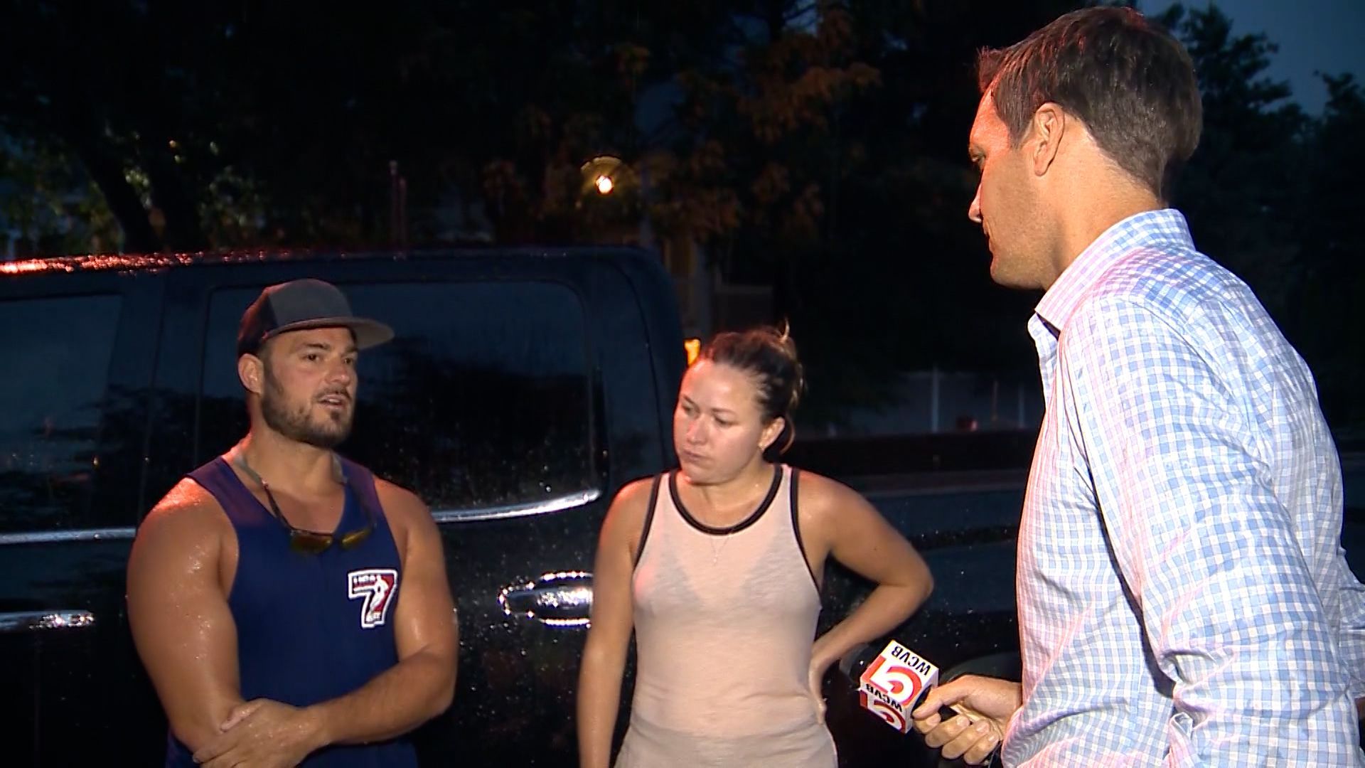 Couple rescues 3 people from Mystic River in Somerville during stormy weather