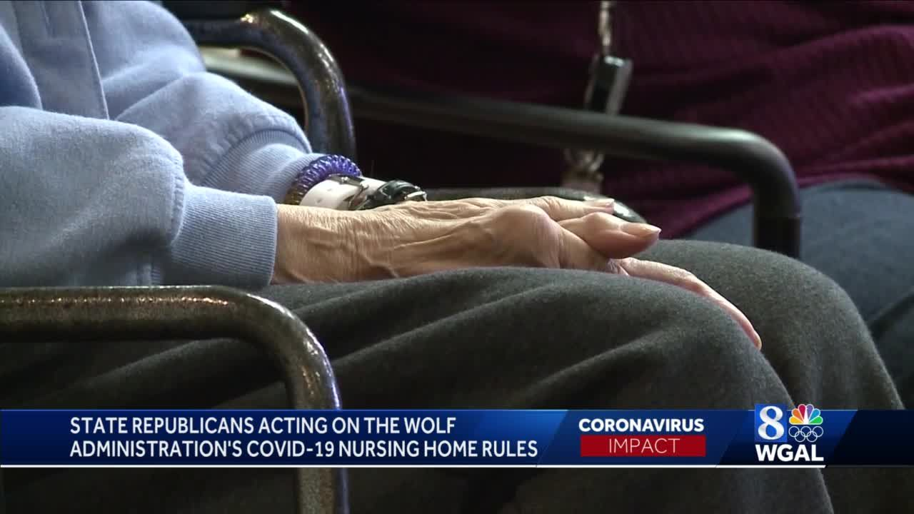 Pa. House GOP announces investigation into Wolf administration handling of COVID-19 in nursing homes