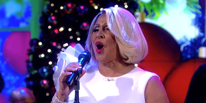 Darlene Love's Christmas performance on 'The View' 2018