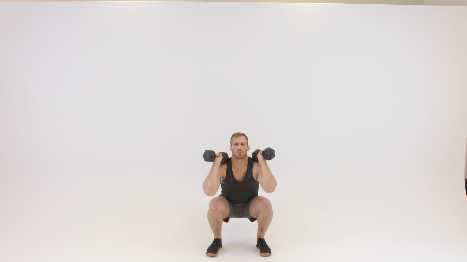 How to Perform Dumbbell Thrusters with Perfect Form
