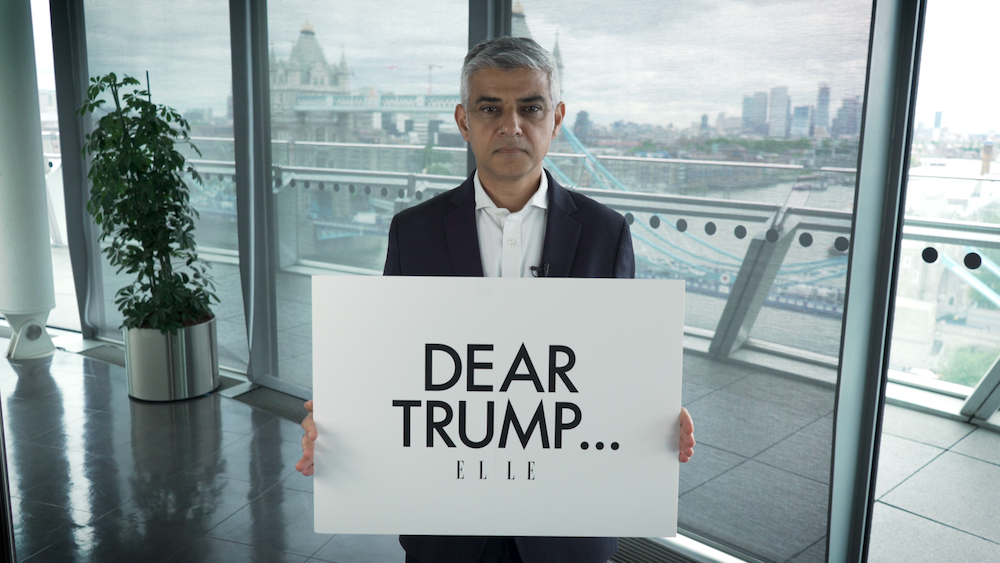 Sadiq Khan Has A Strong Message For Donald Trump, As The US President Arrives in The UK For His State Visit