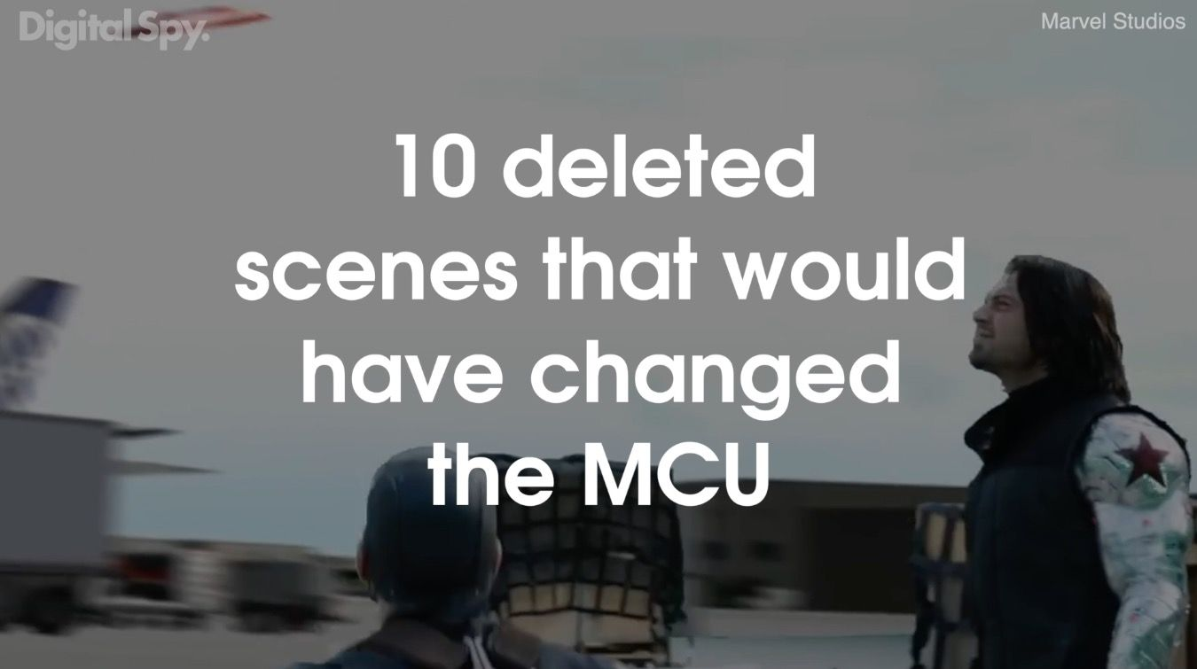 10 deleted scenes that would have completely changed the Marvel Cinematic Universe