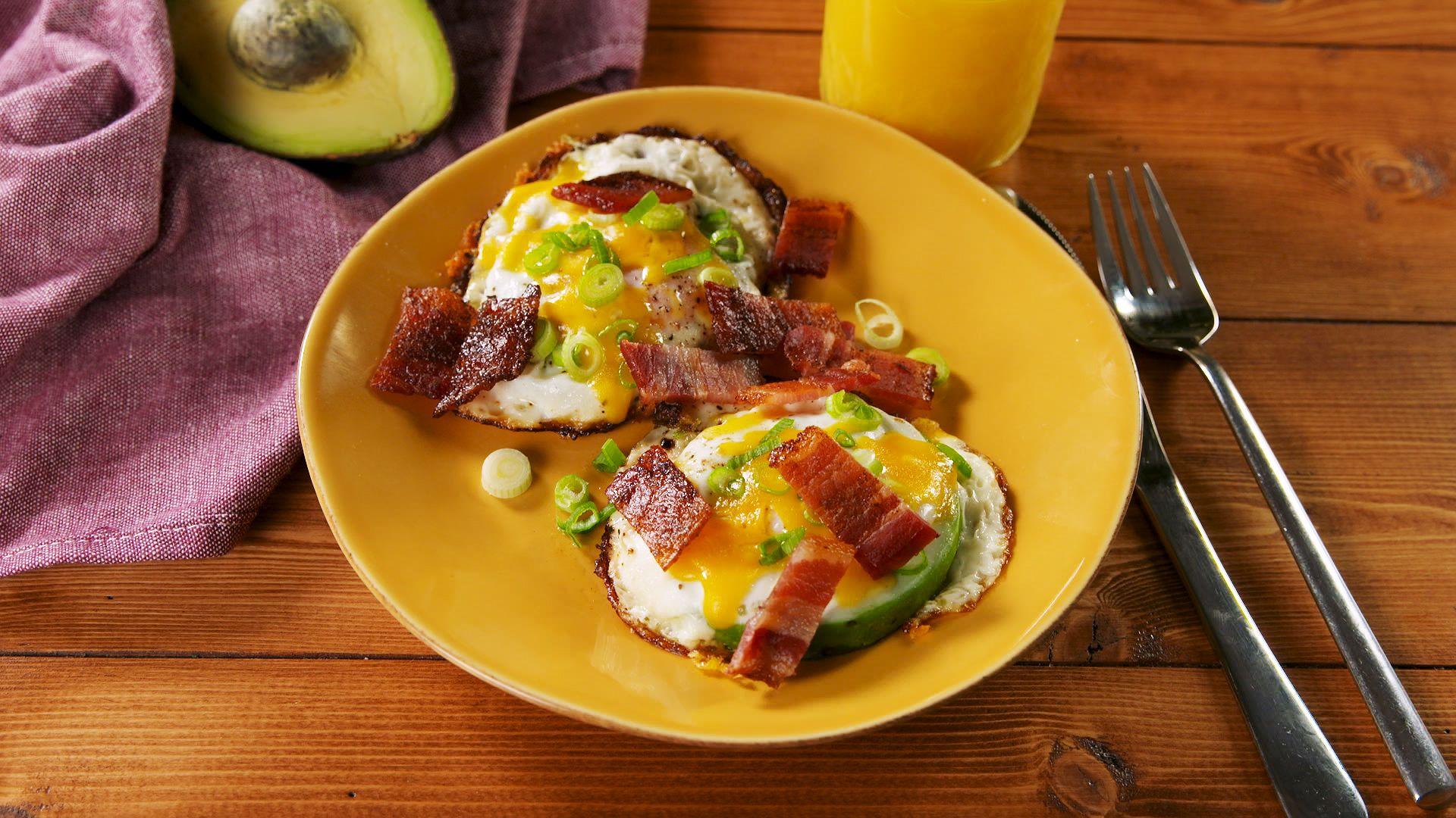 Avocado Egg-In-A-Hole