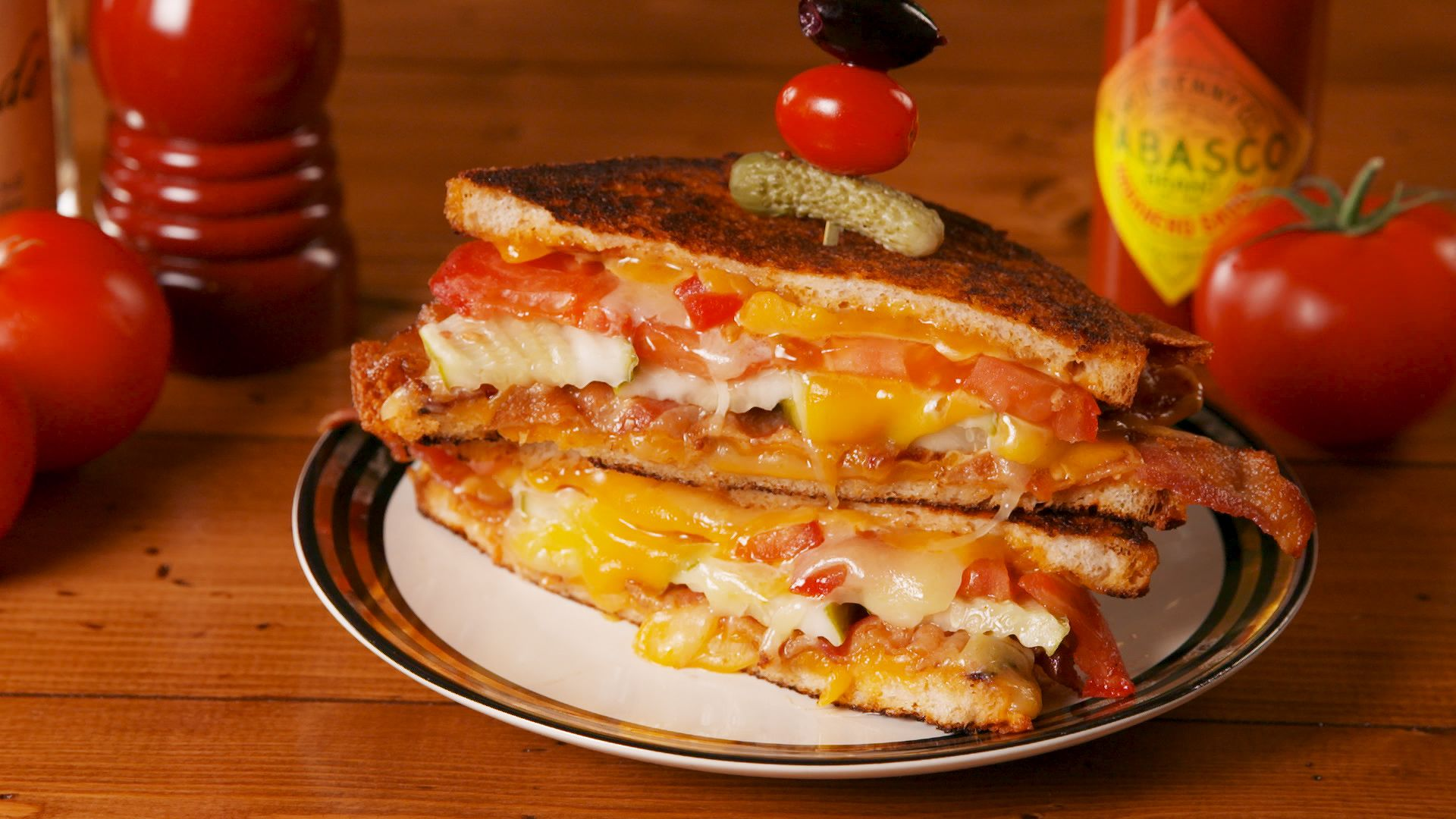Best Bloody Mary Grilled Cheese Recipe How To Make Bloody Mary Grilled Cheese