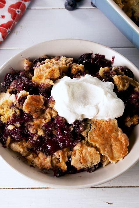 Blueberry Dump Cake - Delish.com