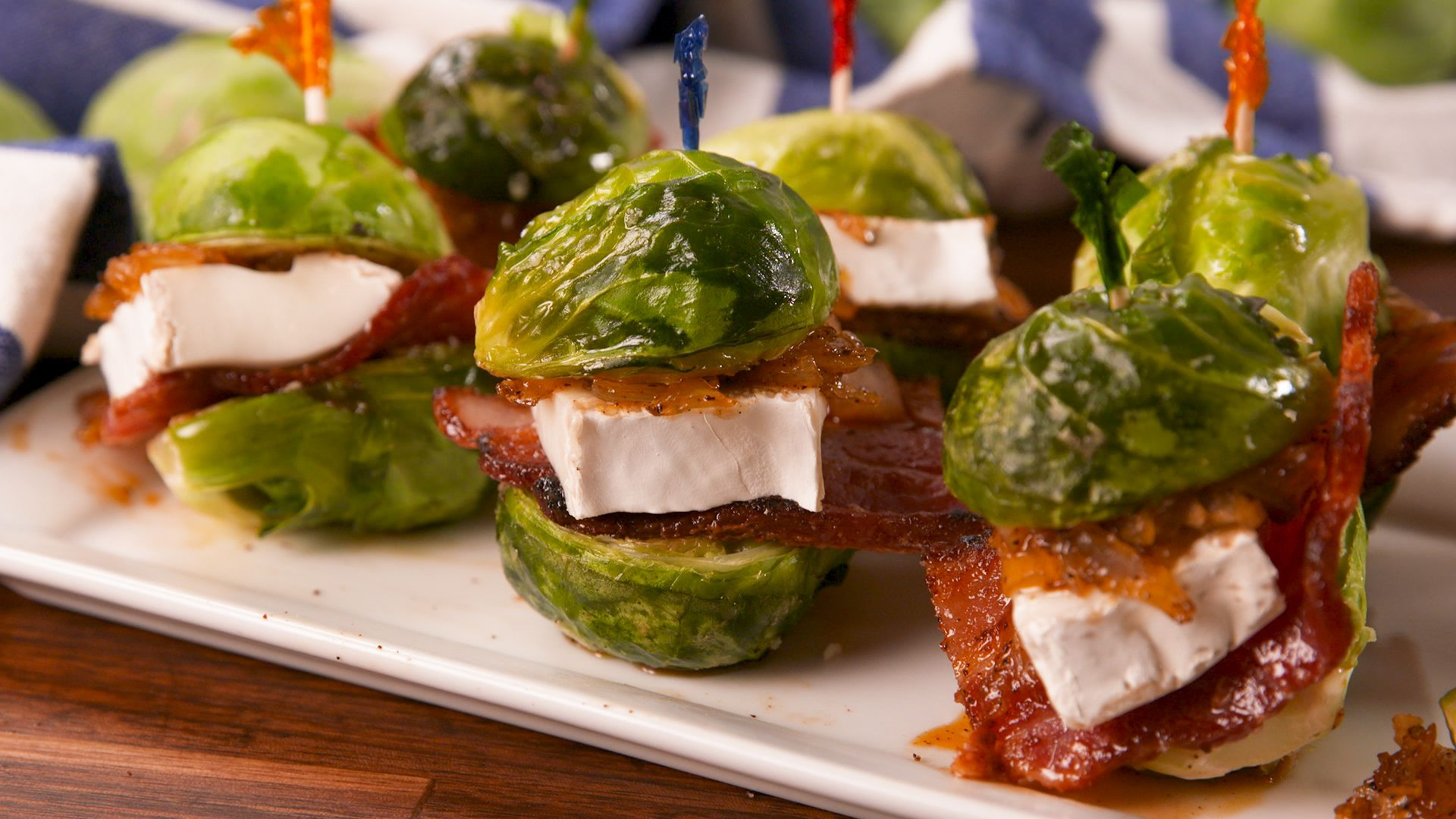 These Brie-Filled Brussels Sprout Sliders Are What Your Life Is Missing