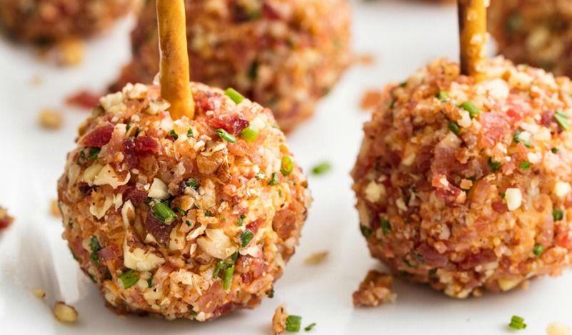 & Best Cheese Ball Bites Recipe-How To Make Cheese Ball Bitesu2014Delish.com