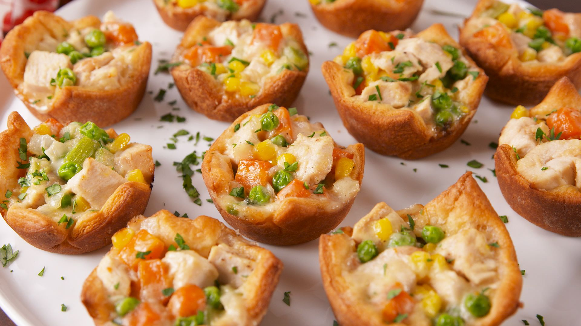 Best Chicken Pot Pie Cups Recipe - How