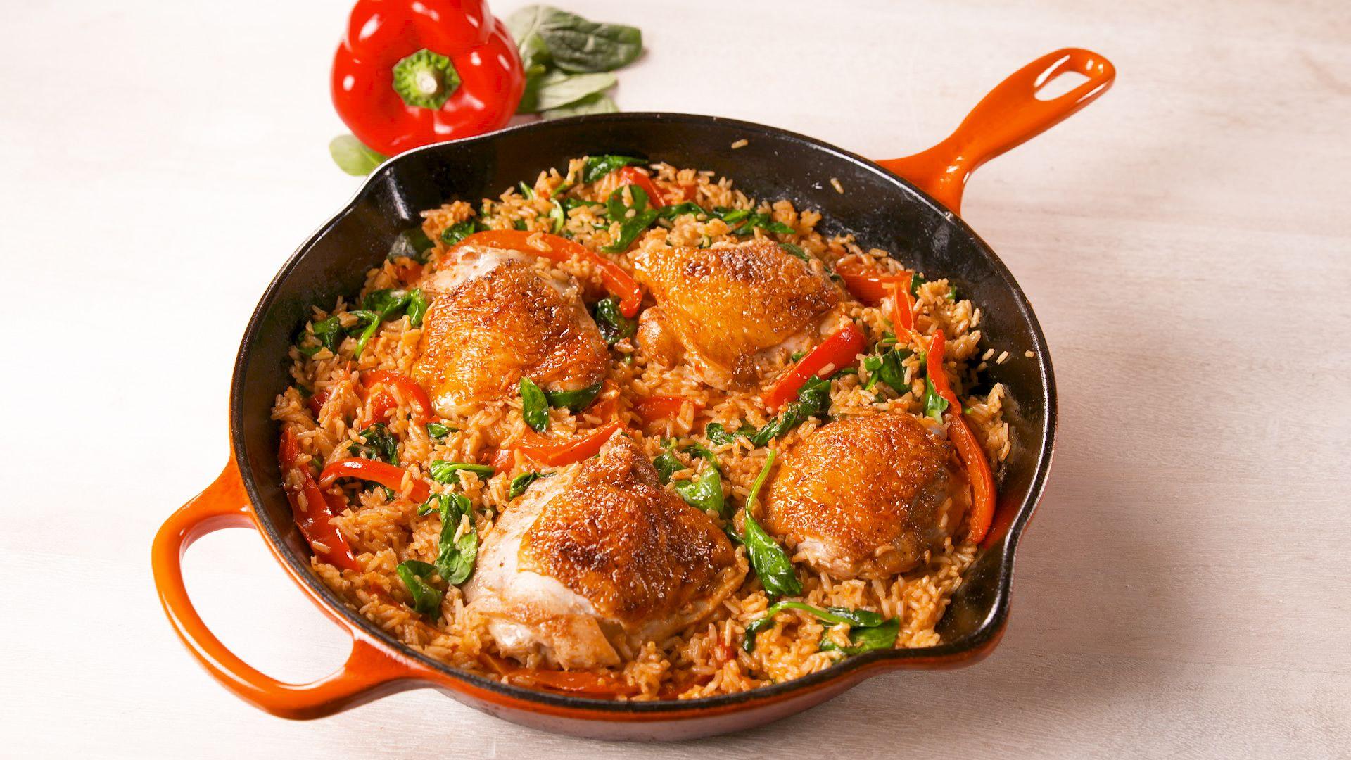 best paprika chicken rice recipe how to make paprika chicken rice