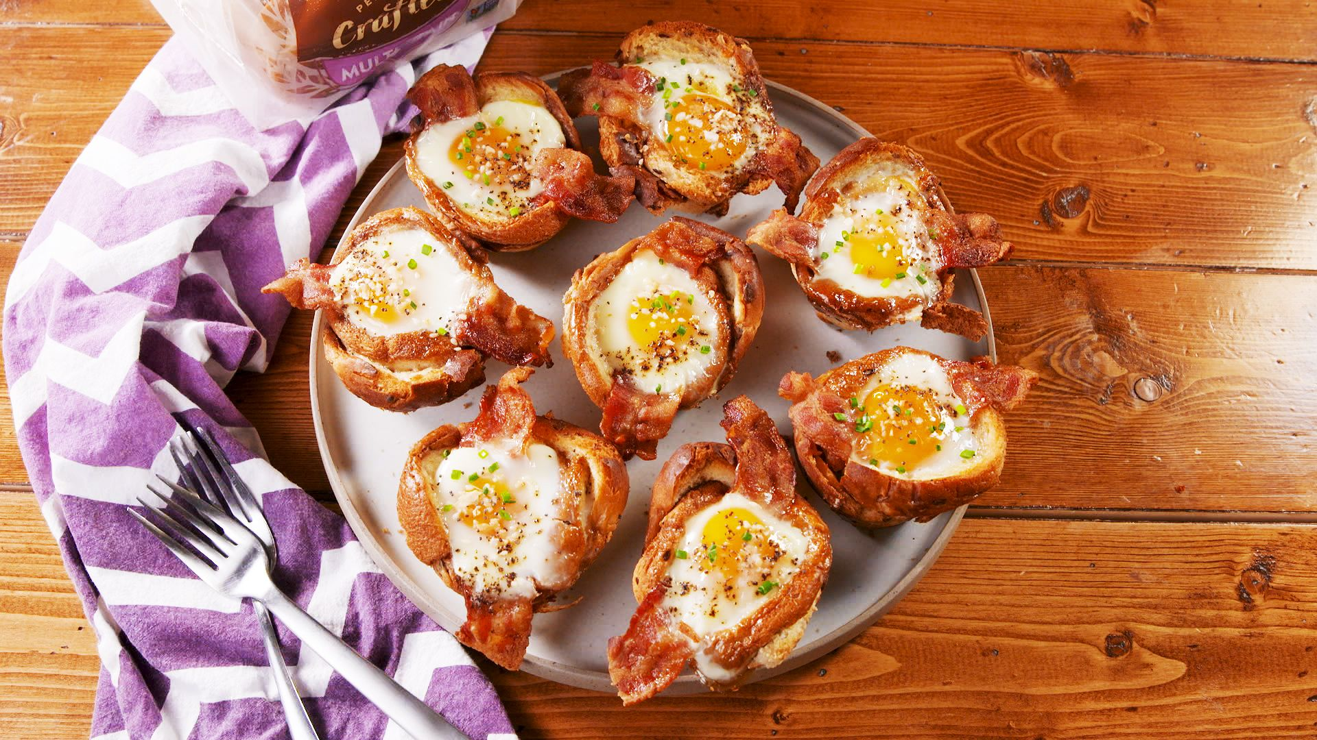 Everything Toast Egg Cups