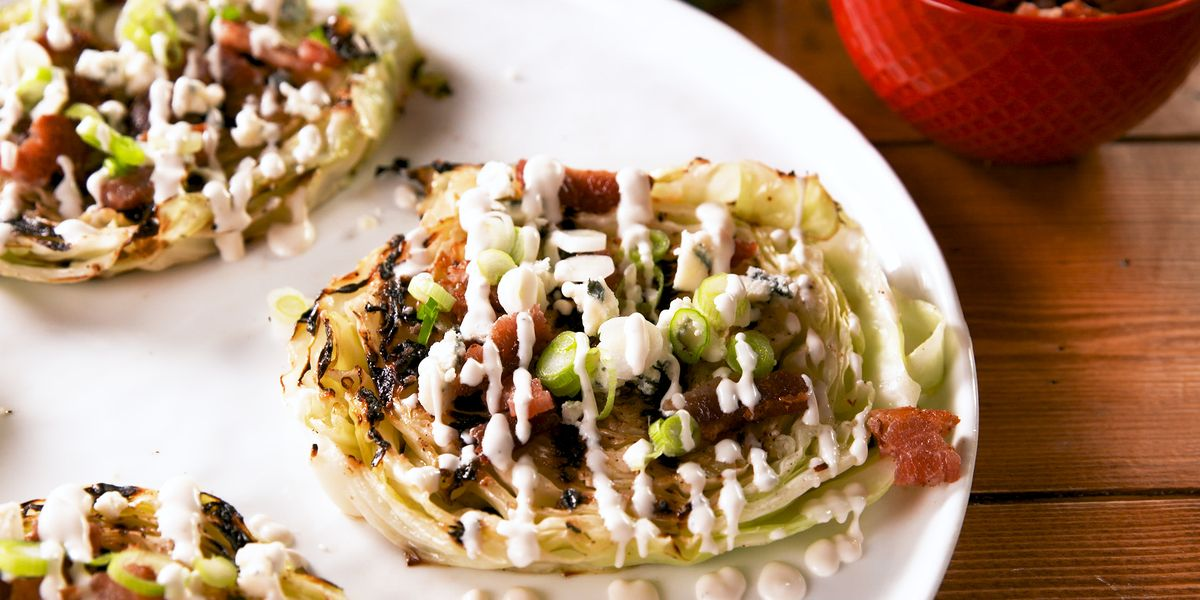 Best Grilled Cabbage Steaks Recipe How To Make Grilled