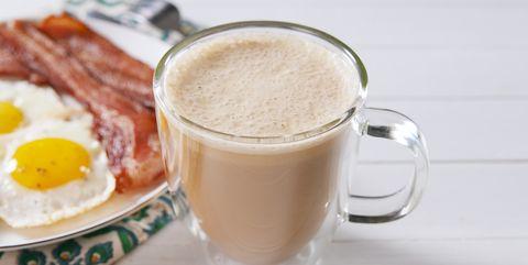 Food, Drink, Ingredient, Milkshake, Dish, Smoothie, Cuisine, Health shake, Milk punch, Almond milk,