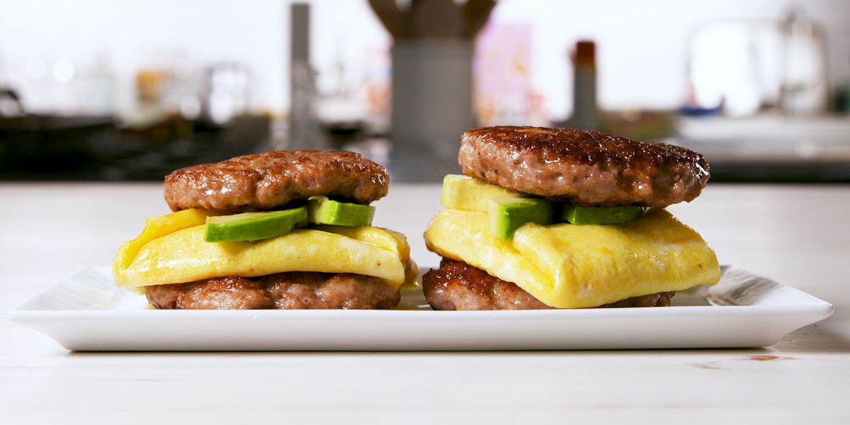 Best Keto Sausage Breakfast Sandwich Recipe How To Make Keto Sausage Breakfast Sandwich