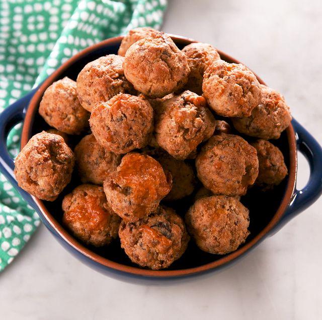 Keto Sausage Puffs - Delish.com