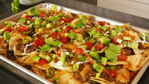 Best Nachos Supreme Recipe How To Make Easy Loaded