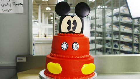 Brilliant Sams Club Is Selling Several Mickey Mouse Themed Cakes And Funny Birthday Cards Online Alyptdamsfinfo