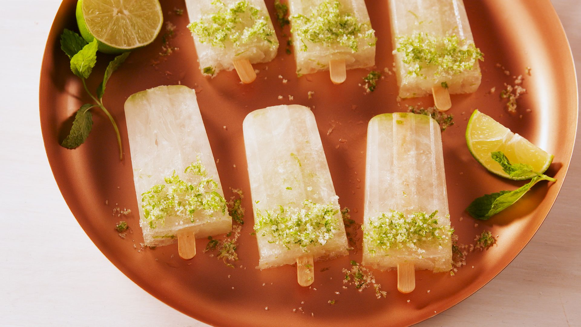 Moscow Mule Pops
